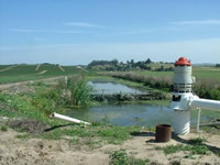 stormwater percolation or groundwater recharge